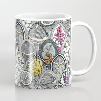 aromatherapy society6 mug sharon turner