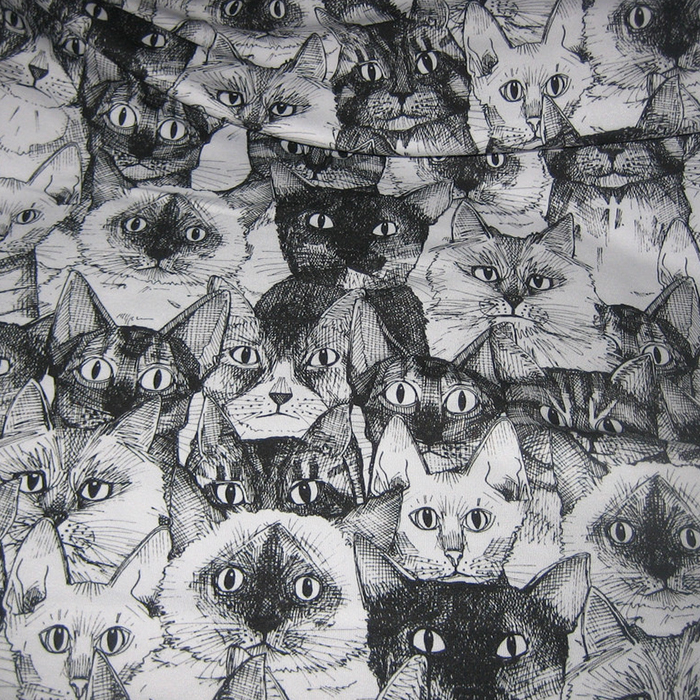 just cats fabric