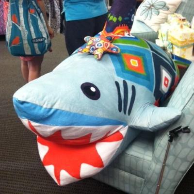 spoonflower book launch minky shark