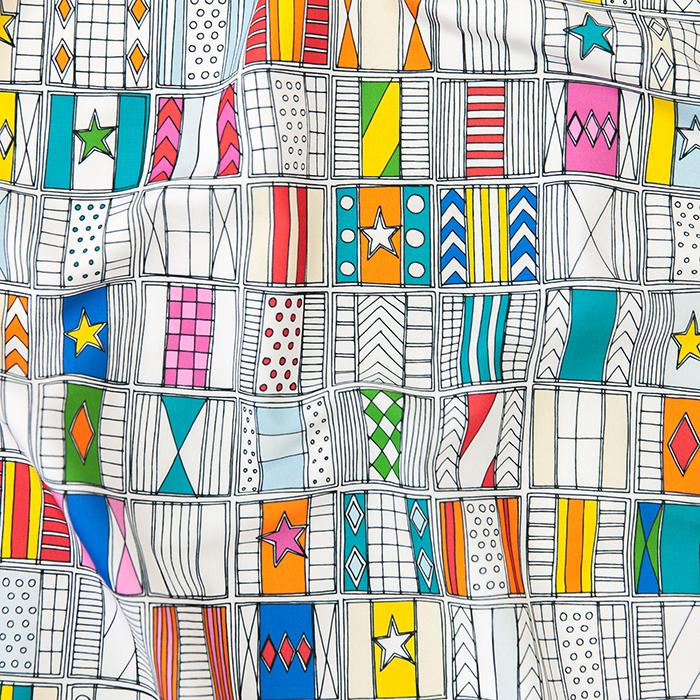 racing silks fabric