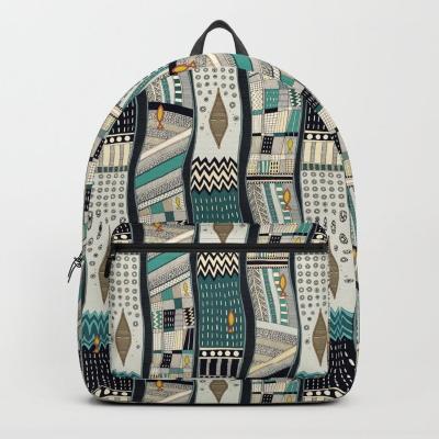 FLOD society6 backpack sharon turner
