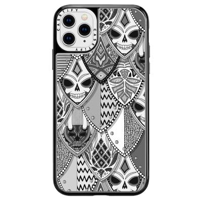 gothic shields bw casetify phone case sharon turner halloween