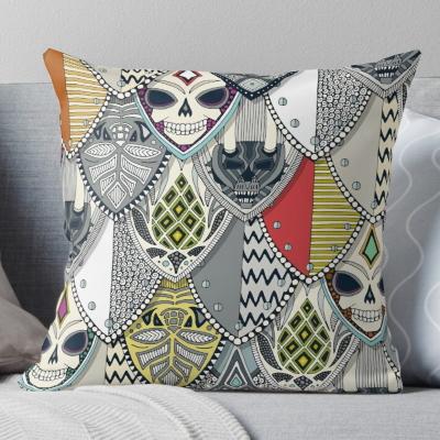 goothic shields throw pillow cushion redbubble sharon turner halloween