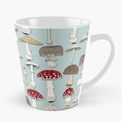 mushrooms celadon blue redbubble mug sharon turner