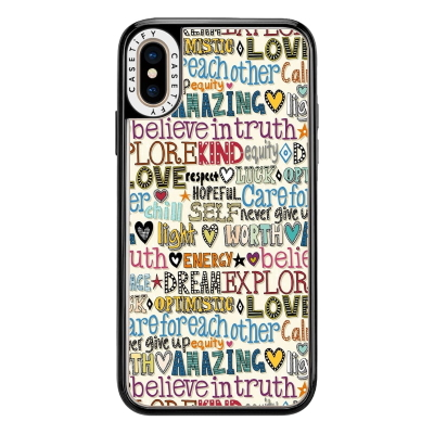 believe in truth casetify phone case sharon turner