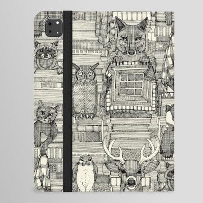 books and blankies black pearl iPad folio case society6 sharon turner