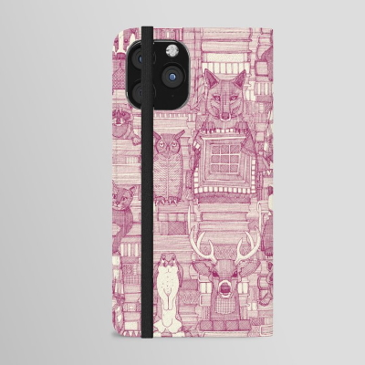 books and blankies cherry pearl iPhone wallet case society6 sharon turner