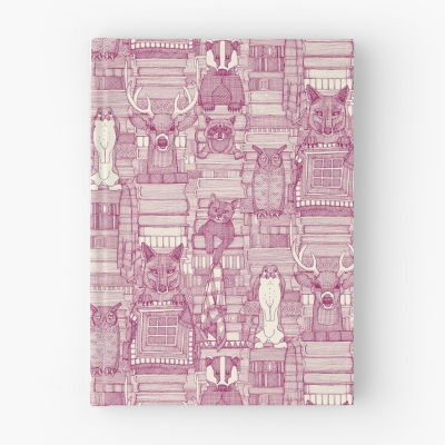 books and blankies cherry pearl redbubble journal sharon turner
