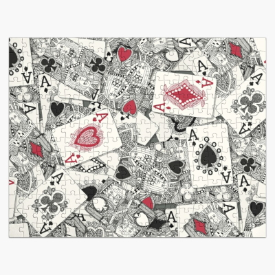 playing cards redbubble puzzle sharon turner
