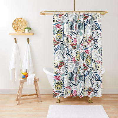 create me some love redbubble shower curtain sharon turner