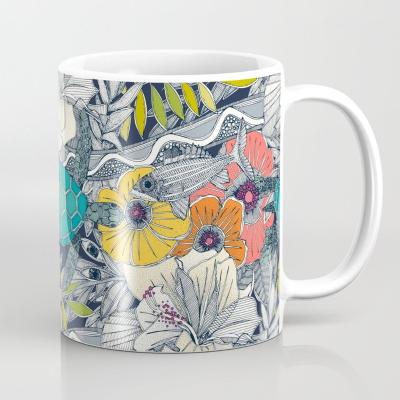 I see Hawaii dark lapis society6 coffee mug sharon turner