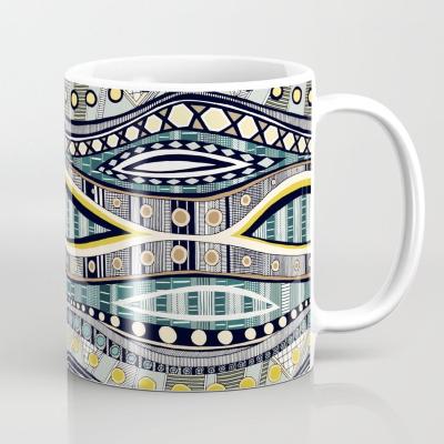 VINKA GEO society6 coffee mug sharon turner
