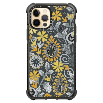 ZAFER yellow gray casetify iPhone case sharon turner