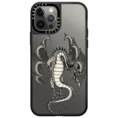 dragon transparent casetify exclusive phone case sharon turner