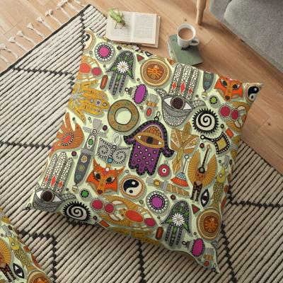 TALISMANS honeydew redbubble floor pillow cushion sharon turner