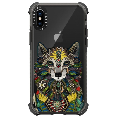 WOLF transparent phone case exclusive casetify sharon turner