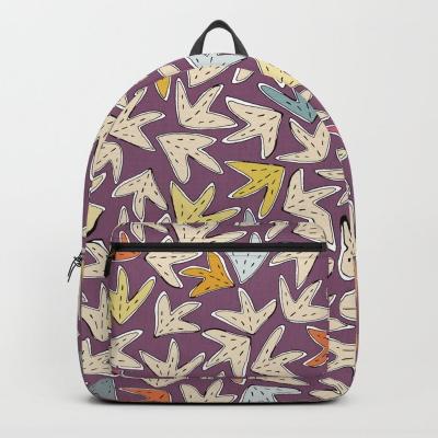 YARPRAK purple society6 backpack sharon turner
