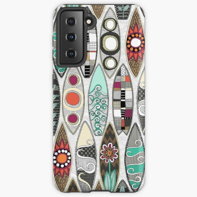 surfboards white redbubble samsung galaxy case and skins sharon turner
