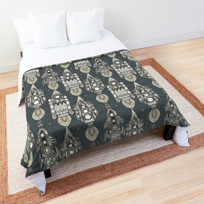space rockets mono bed comforter redbubble sharon turner