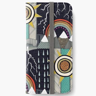 KLIMAT redbubble iphone wallet sharon turner