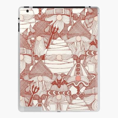 halloween gnomes paprika redbubble iPad skin sharon turner