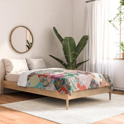 sarilmak patchwork society6 comforter bed sharon turner
