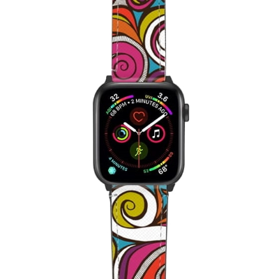 water joy summer waves vacation apple watch band strap casetify sharon turner