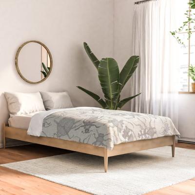 beetles natural society6 bed comforter sharon turner