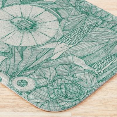 crops NC emerald green redbubble bath mat sharon turner