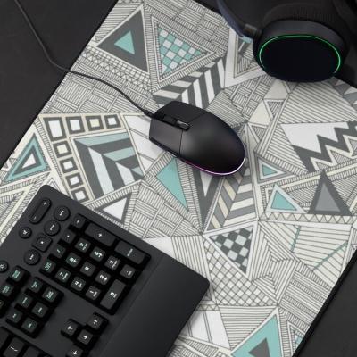 crystal geo redbubble desk mat mouse pad sharon turner