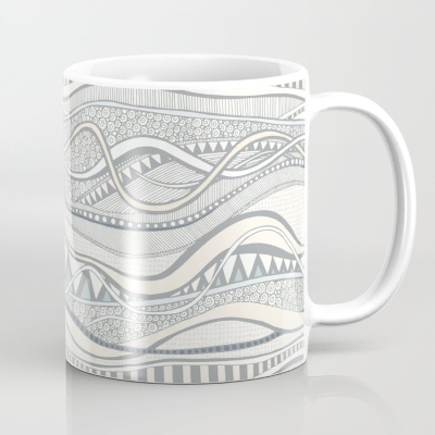 geo ocean society6 coffee mug sharon turner