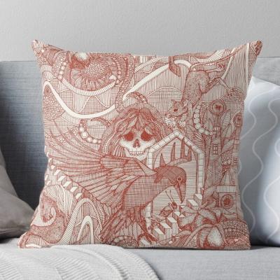 phantasmagoria paprika redbubble throw pillow sharon turner