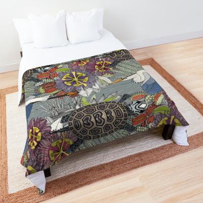 marsh NC silver bed comforter redbubble sharon turner north carolina animalier